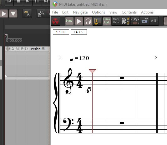 The brand new Notation Editor.