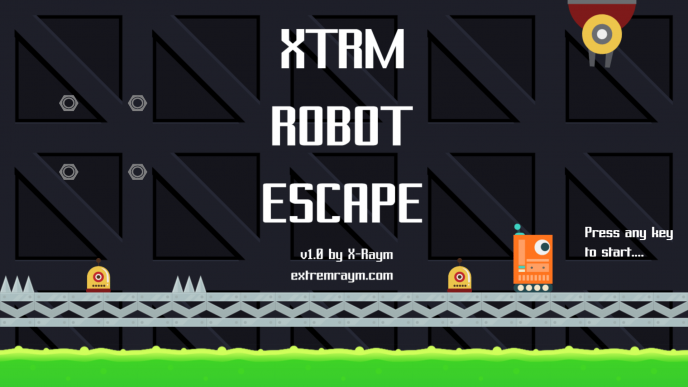 Windows10up.com Download Free XTRM Robot Escape: My First Platformer Game Prototype — Initiation