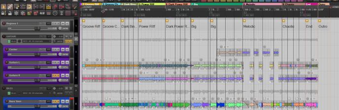 Editing du projet.